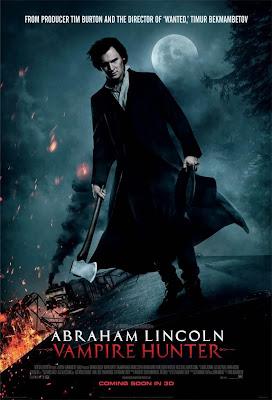 Abraham Lincoln  Cazador de vampiros cartel