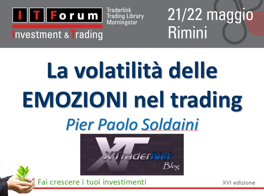 XTraderNet a ITForum Rimini 2015