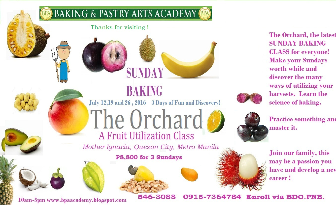 BAKING & PASTRY ARTS ACADEMY