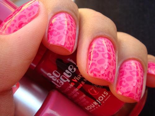 The Amusing Cute cheetah print nails Photo