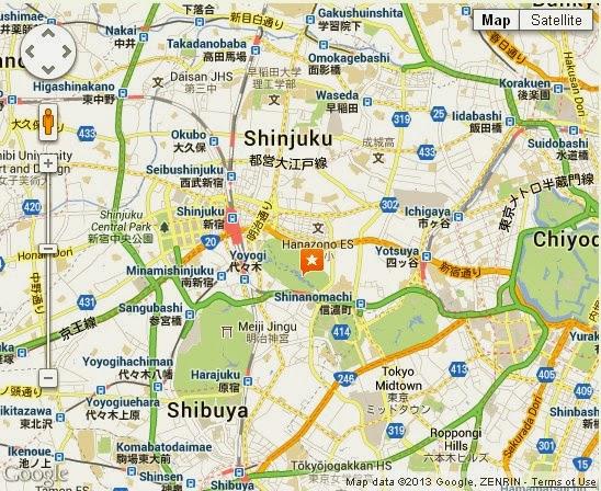Shinjuku Gyoen National Garden Tokyo Location Map,Location Map of Shinjuku Gyoen National Garden Tokyo,Shinjuku Gyoen National Garden Tokyo accommodation destinations attractions hotels map photos pictures reviews winter history,shinjuku gyoen national garden address directions,how to get to shinjuku gyoen,shinjuku gyoenmae park tea house station