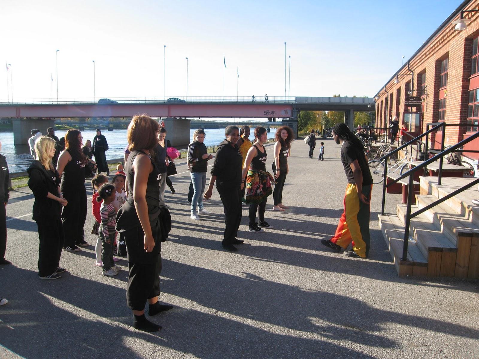 lunch dansare ansiktsbehandling i Umeå