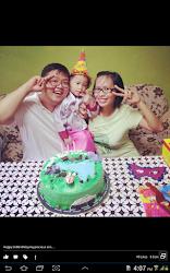 Dhiya Alexander 3rd birthday
