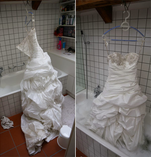 How to Clean Your Wedding Dress