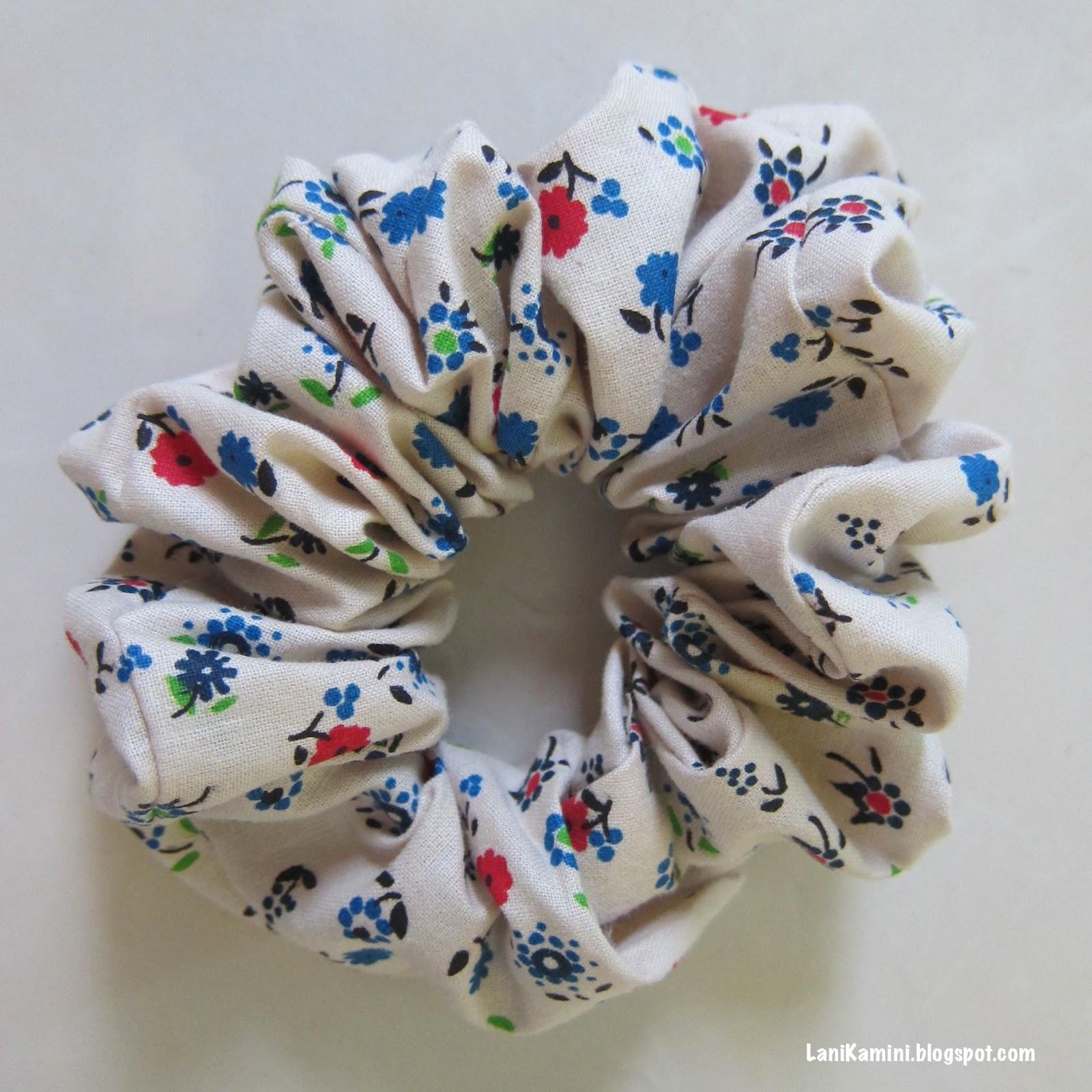 Lani Kamini Tutorial Ikat Rambut Scrunchie