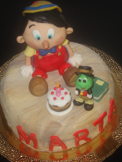 Pinocchio's cake