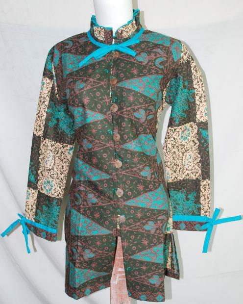 Blus batik model terkini