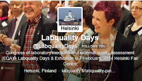 Follow Labquality Days on Twitter