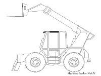 Gambar Forklift Untuk Diwarnai
