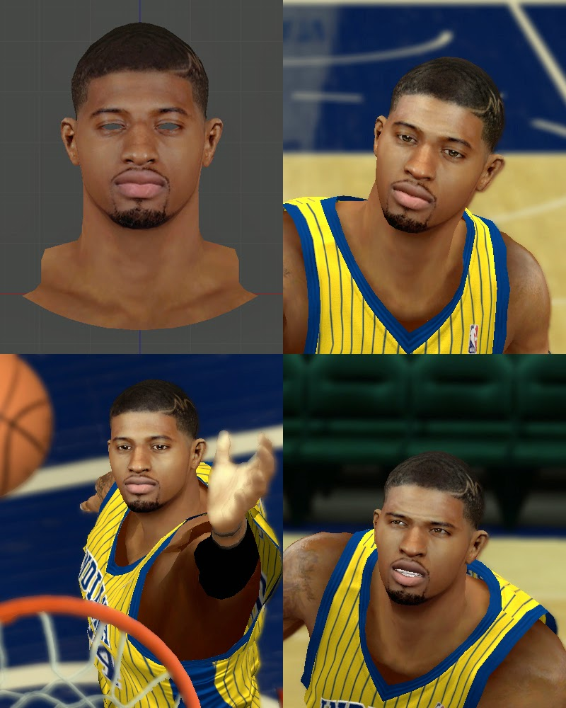 Paul George (Hair Design) 2014-15