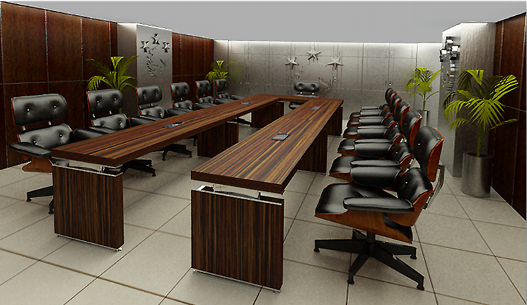 muebles para oficina sobre dise o sala de juntas milan