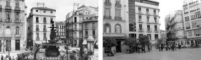 Málaga: Plaza de La Constitución 1940-2011