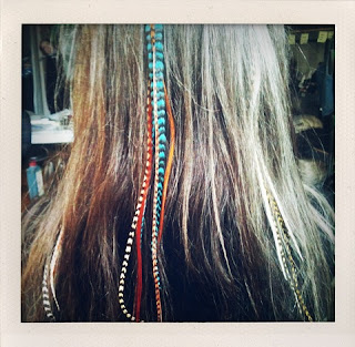 Trend feather hair extensions