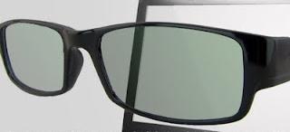 Super Kacamata anti radiasi sebelum dipakai