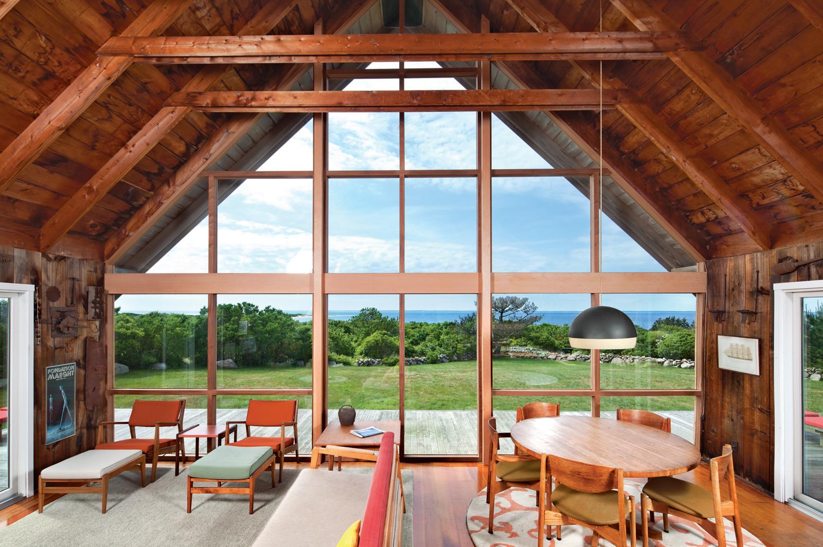die wohngalerie jens risom und sein zeitlos klassisches prefab haus auf rhodes island. Black Bedroom Furniture Sets. Home Design Ideas