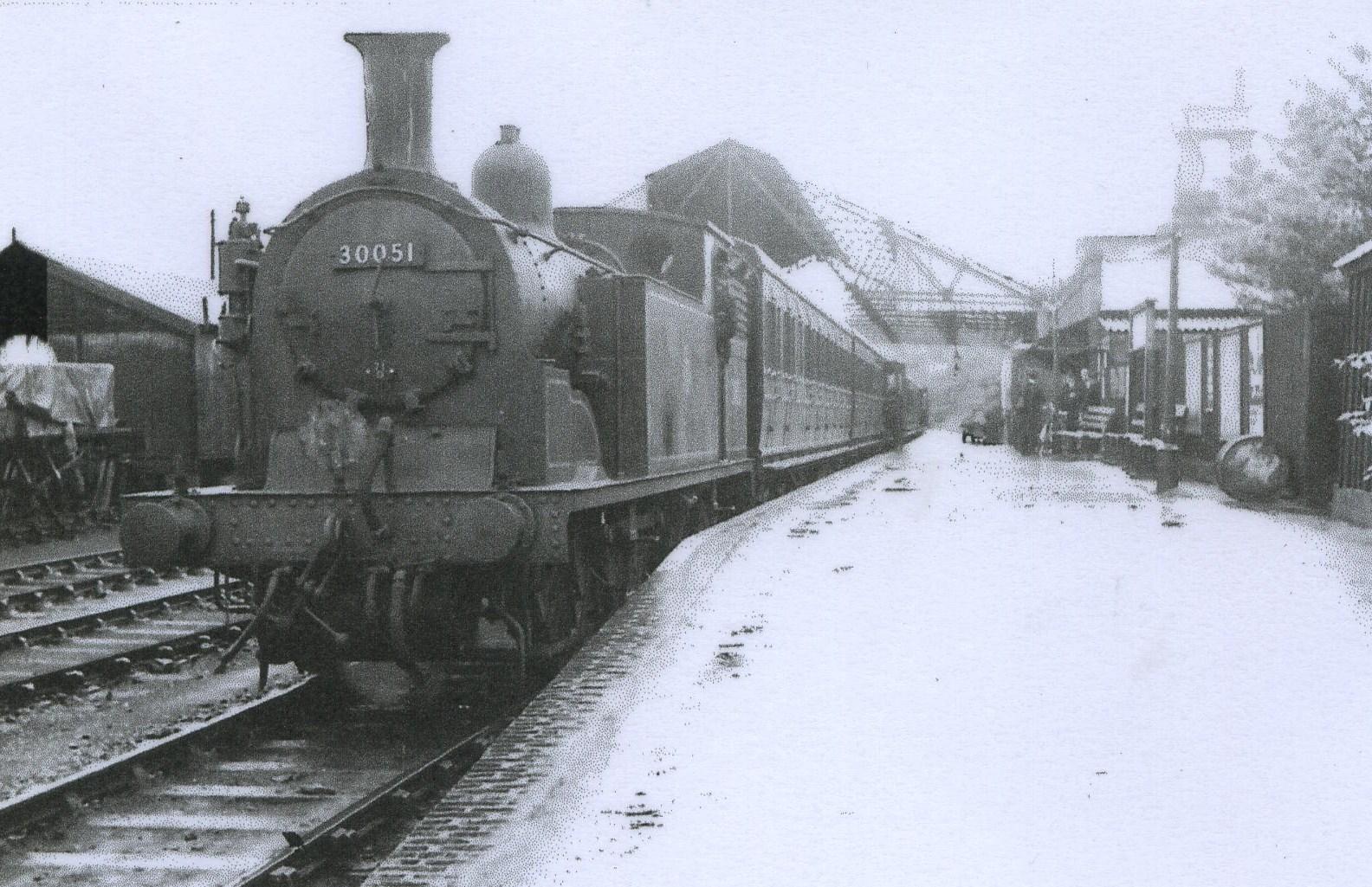 Service leaving Gosport 1950s