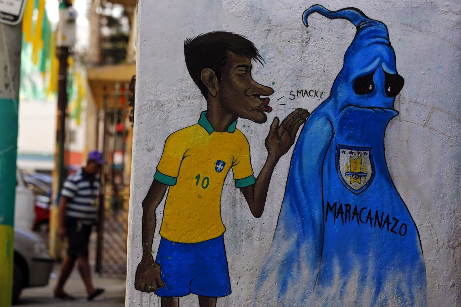 2014 World Cup Street Art