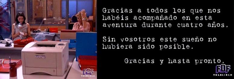 finales de series, Ana y Clara, Belén Rueda y Alicia Borrachero, Crónica Universal