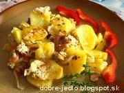Prekladané zemiaky - recept