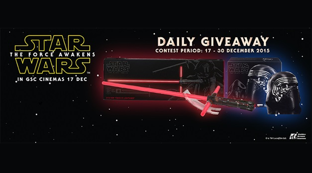 gsc star wars daily giveaway
