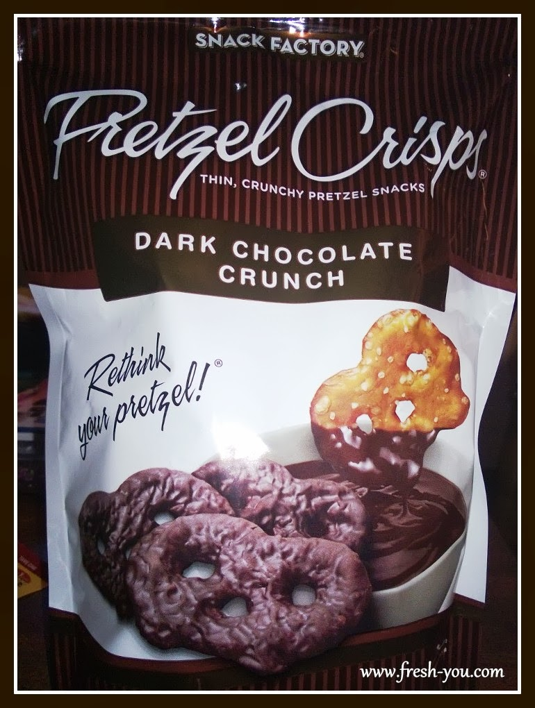 Snack Factory Dark Chocolate Crunch Pretzel Crisps