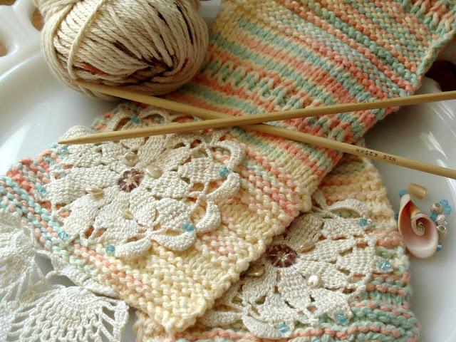 Рукоделие вязание на спицах