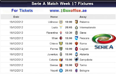 italian serie a matches today