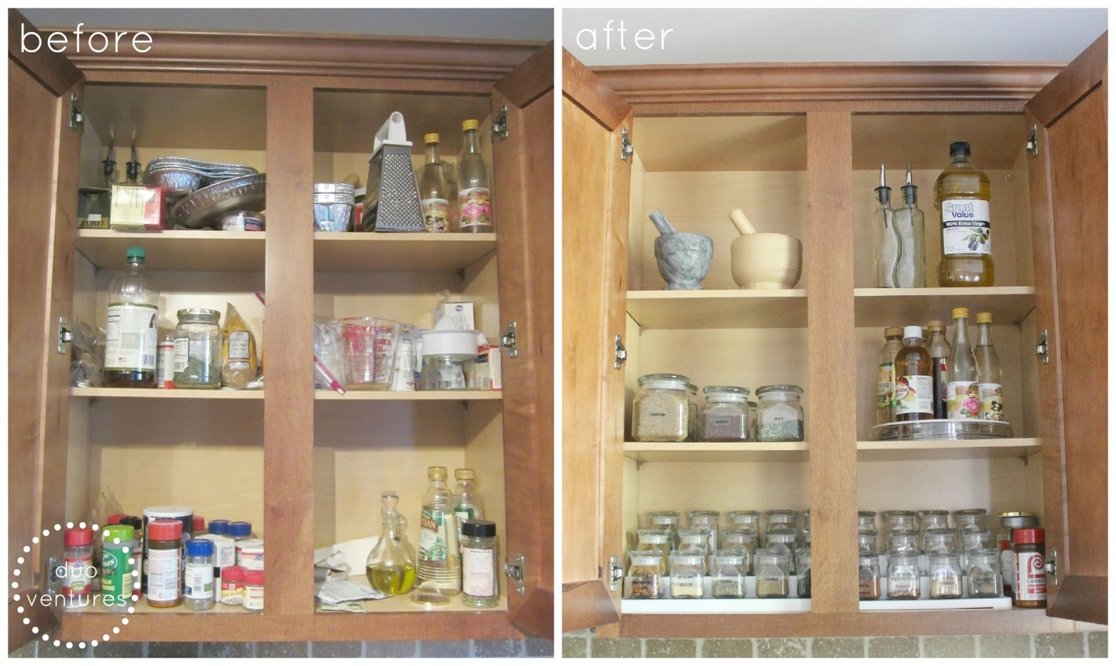 Organizing: The Spice Cabinet