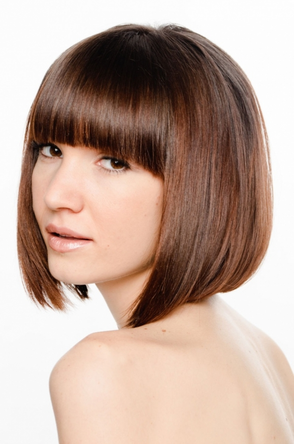 Short Hairstyles 2012 Bob Haircuts With Bangs Can Brought