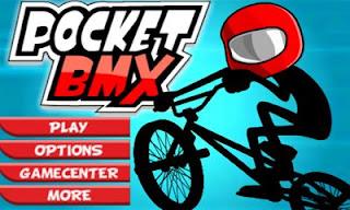 Screenshots of the Pocket BMX for Android tablet, phone.