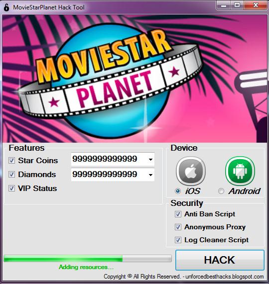 Moviestarplanet cheats no download or survey