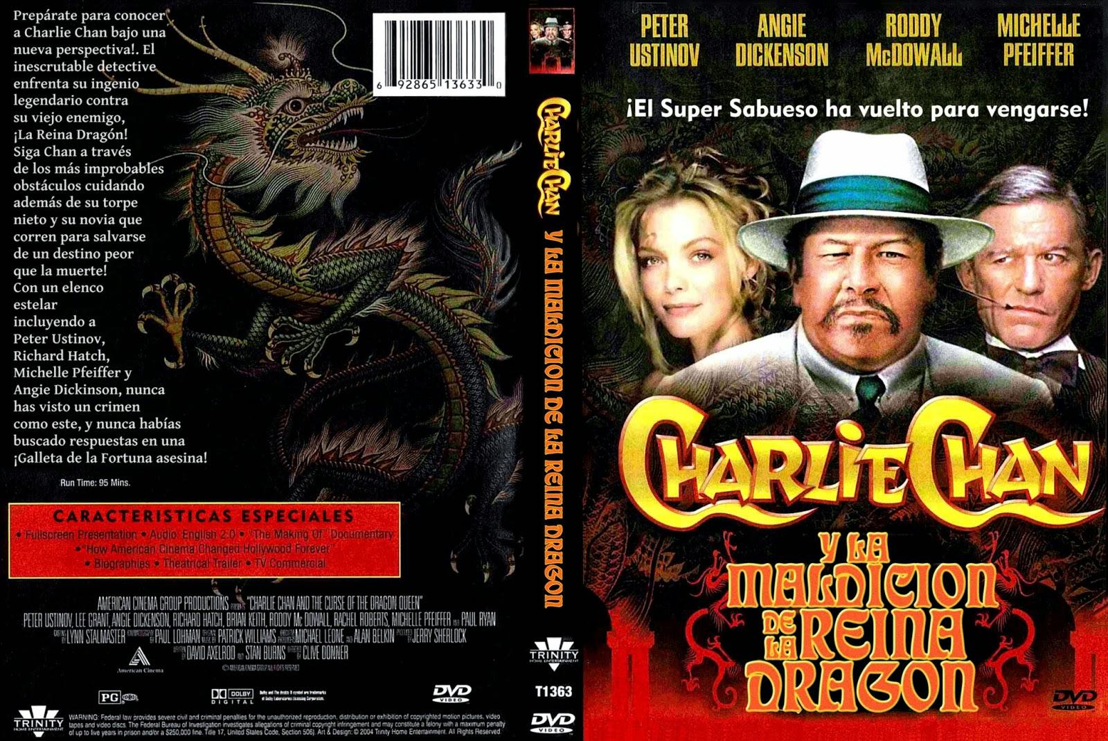 La maldición de la Reina Dragón (1980 - Charlie Chan and the Curse of the Dragon Queen)