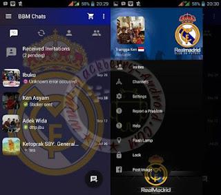 Kumpulan BBM Mod Versi 2.10.0.31 Tema Team Sepak Bola Dunia Terbaru