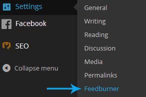 Feedburner plugin