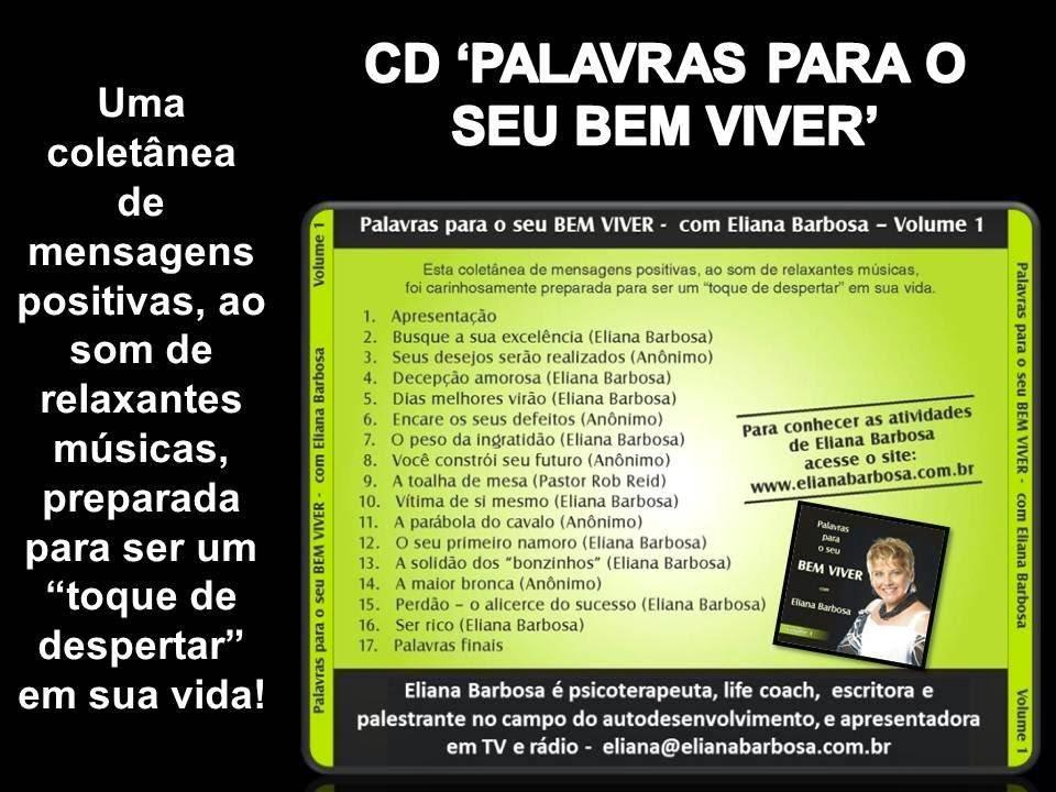 UM CD DE PRESENTE PARA VOCÊ