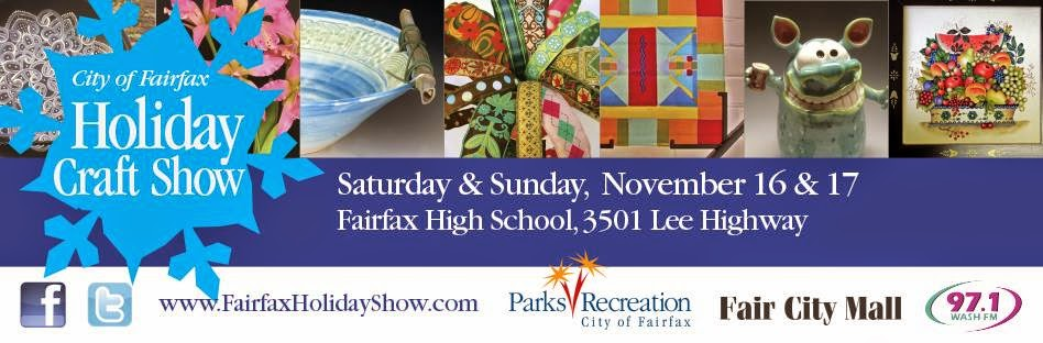City of Fairfax craft show, Fall craft show virginia