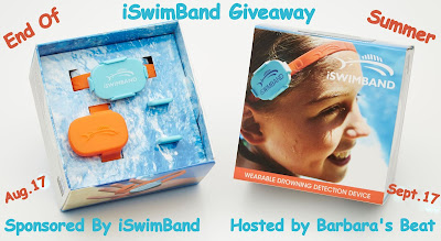 Enter the iSwimBand Giveaway. Ends 9/17