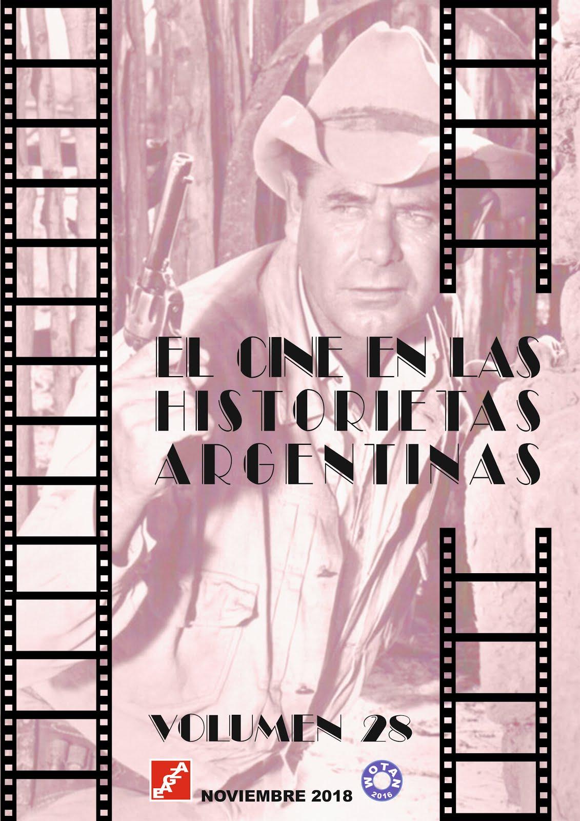 EL CINE EN LAS HISTORIETAS ARGENTINAS - EAGZA - WOTAN.
