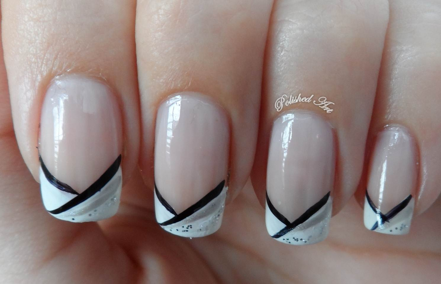 Polished art french tips french tips prinsesfo Choice Image