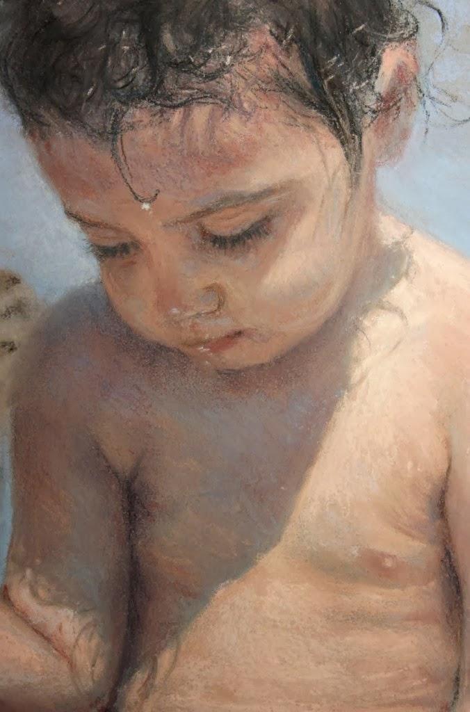 retratos-oleo-de-niños