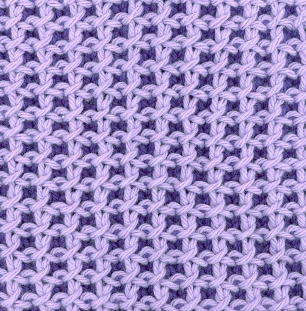 Saras Colorwave Blog Brioche Dishcloth Madness