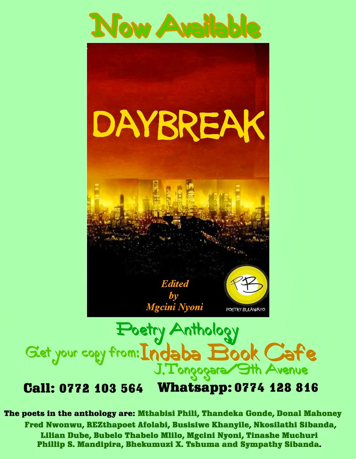 Daybreak (Poetry Anthology).