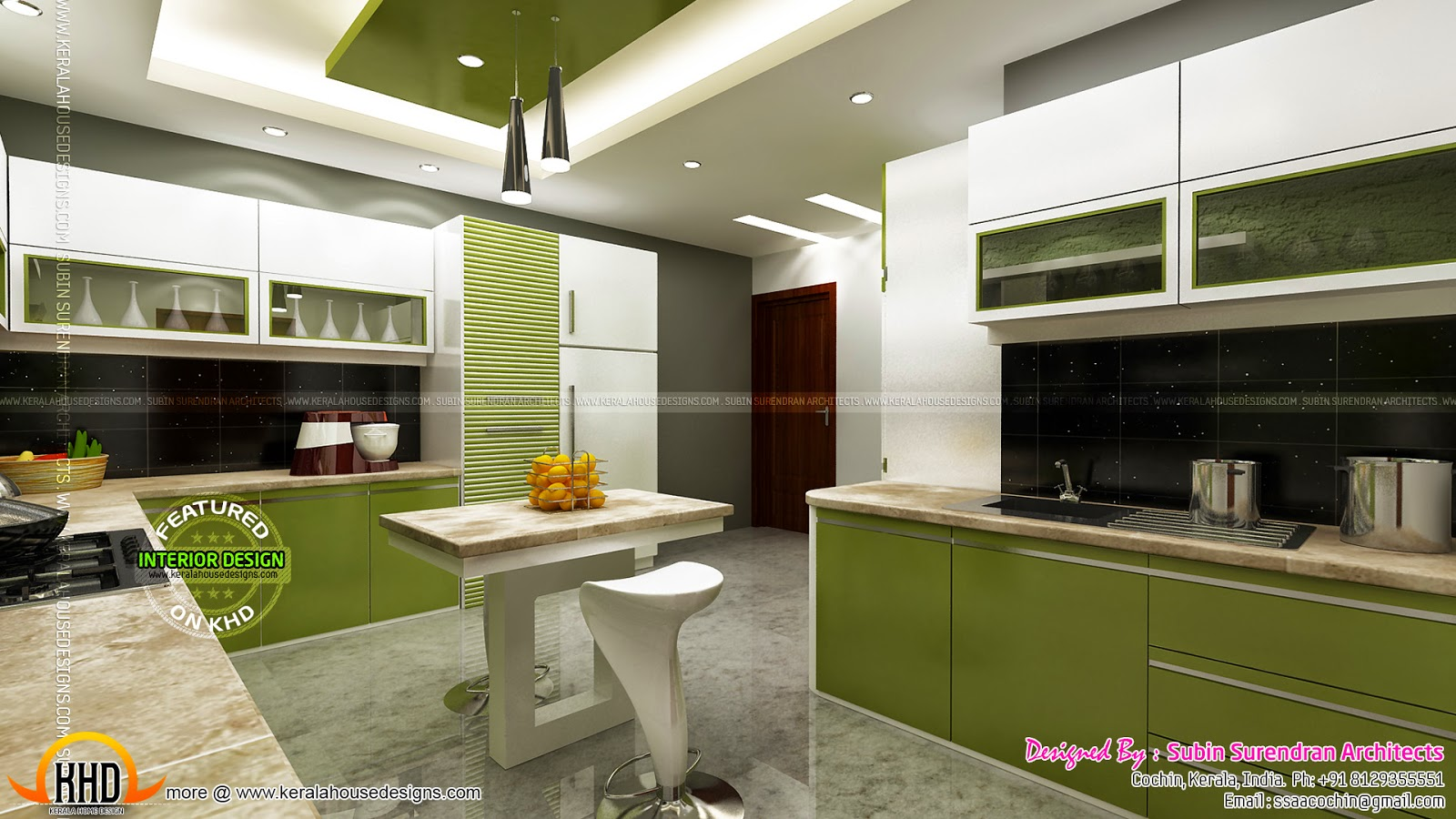 Luxury interior designs in kerala kerala home design and for Kerala interior designs