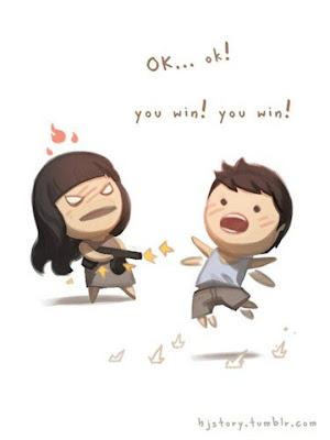 foto kartun romantis