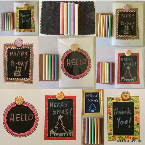 Chalkboard Card Sets