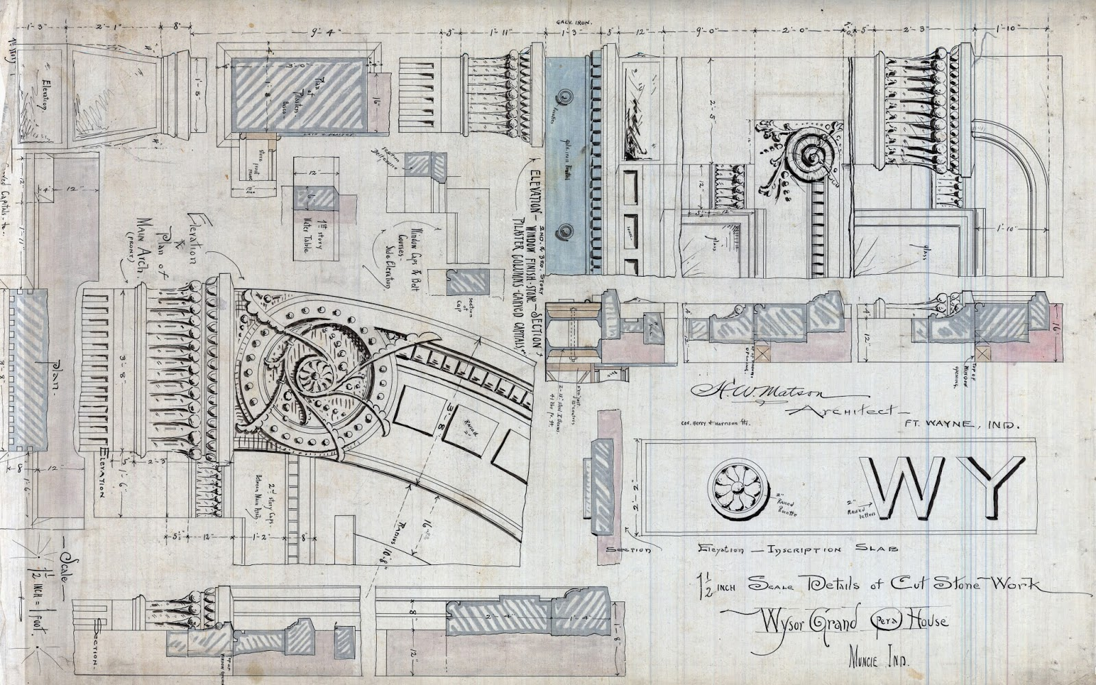 Architectural Facades Drawings Drawings Documents