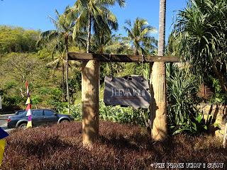 Jeeva Klui Lombok - The signage