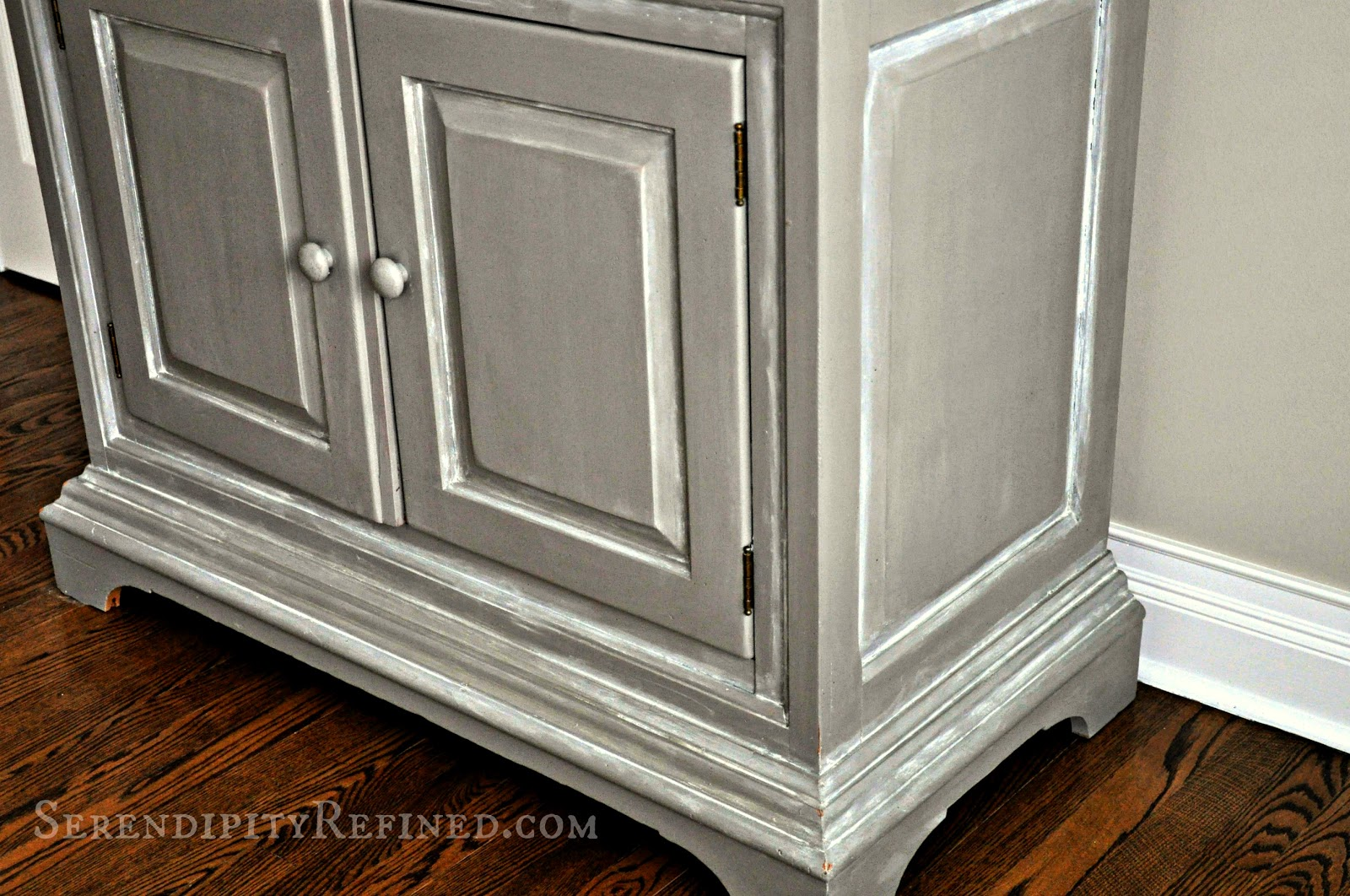 antique white chalk paintSerendipity Refined Blog Reader Painted Furniture DIY Help 2