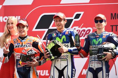 Ini 7 Pembalap Peraih Podium Paruh Pertama MotoGP 2015