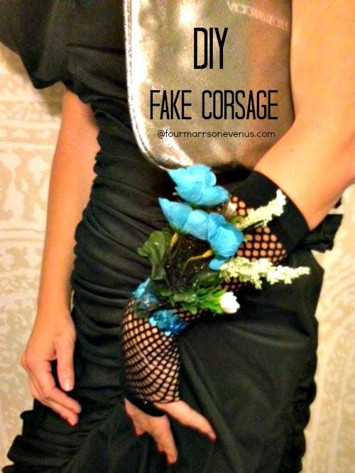 DIY Fake Corsage